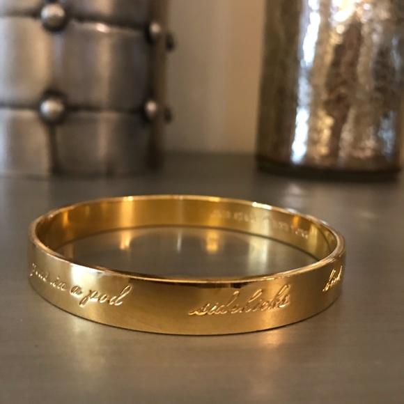 kate spade Jewelry - Kate Spade Gold Best Friends Bangle Bracelet BFF'S